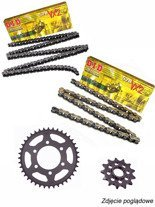 Chain D.I.D.520 VX2 PRO-STREET X-Ring [108 chain link] and SUNSTAR sprocket for Honda CB 300 F [15-16]/ CBR 300 R [14-16]