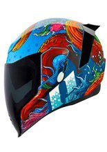 Full face helmet Icon Airflite Inky