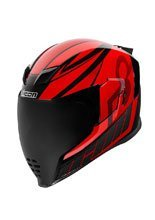 Full face helmet Icon Airflite Red