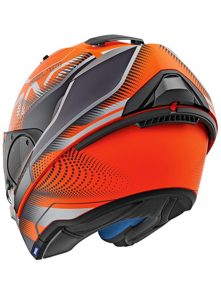 Motorcycle helmets EVO-ONE 2 KEENSER MAT KSR Shark
