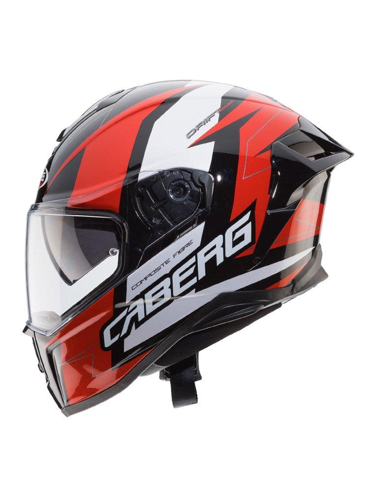 Full Face Helmet Caberg Drift Evo Speedster Black Red