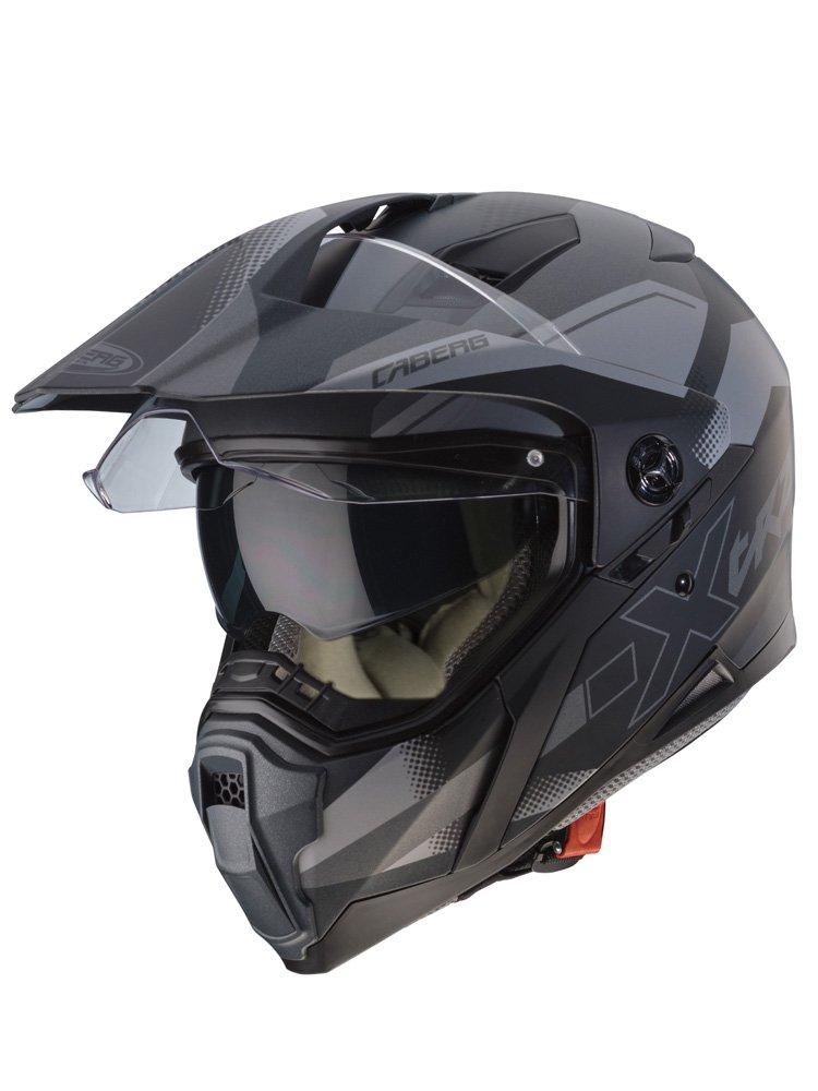Full Face Helmet Caberg XTRACE SPARK [MATT BLACK