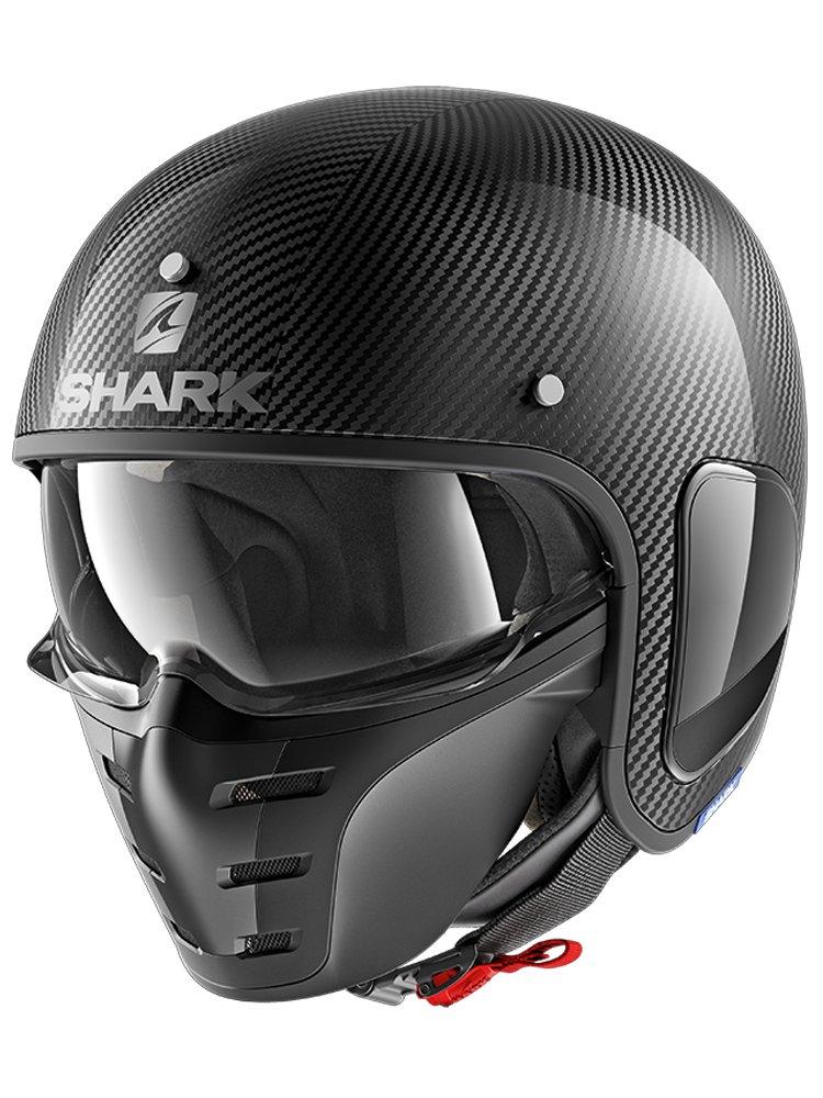 open face helmet shark s drak carbon skin moto online store. Black Bedroom Furniture Sets. Home Design Ideas