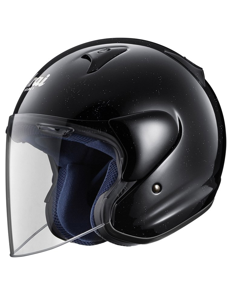 open face helmet arai sz f diamond black moto online store. Black Bedroom Furniture Sets. Home Design Ideas