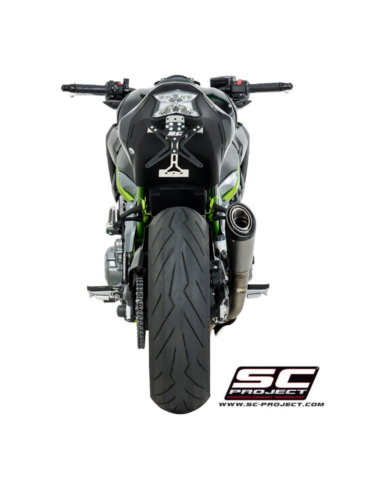S1 Muffler Slip-on SC-Project for Kawasaki Z900 [17] Moto