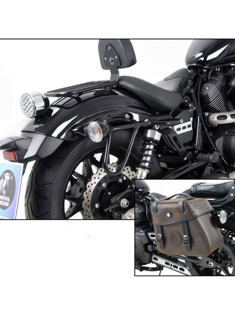 saddlebag holder cutout h b yamaha xv 950 r moto online store. Black Bedroom Furniture Sets. Home Design Ideas