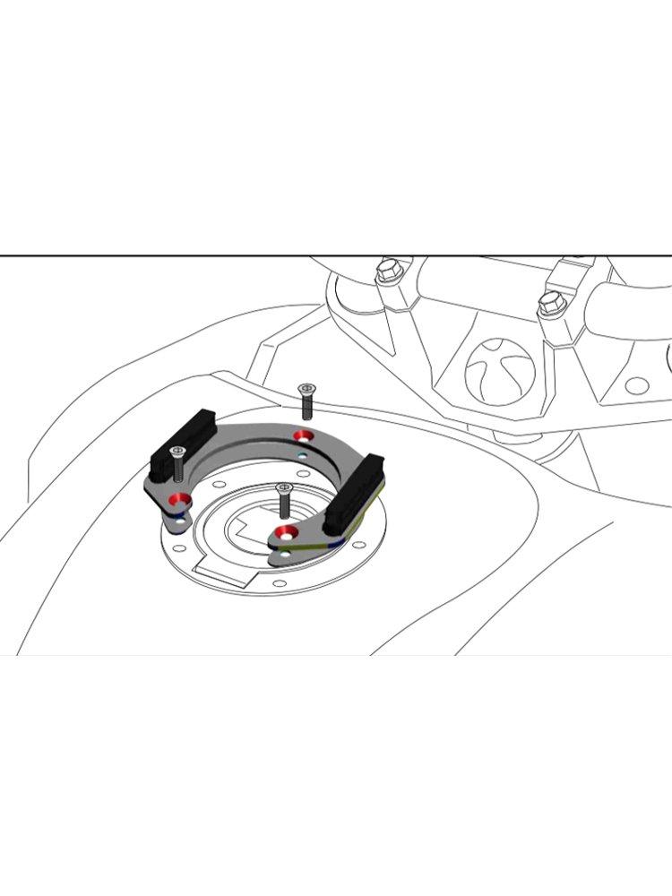 Tankring Lock It Hepcobecker Suzuki Models 5 Hole Mounting Moto