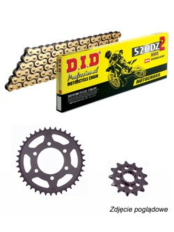 Chain D.I.D.520 DZ2  [108 chain link] and SUNSTAR sprocket for Honda CB 300 F [15-16]/ CBR 300 R [14-16]