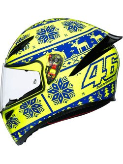 Full-face helmet AGV K1 Winter Test 2015