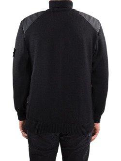 Knit Pullover JOHN DOE Zip Big Logo
