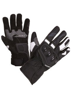 Leather gloves Men Modeka Challenge Short