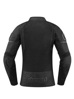 Motorcycle Jacket Icon Contra 2 women stealth