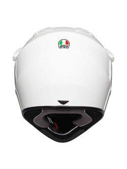 Off-road helmet AX9 AGV white
