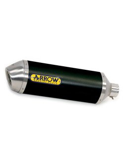 Silencer Arrow Aprilia SRV 850 [12-16] [Race tech, Dark Aluminum + steel]