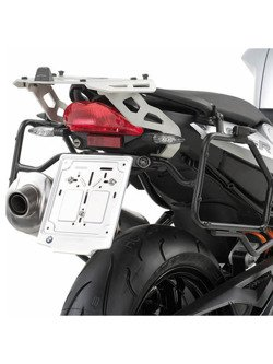 Specific rapid release side case holder KAPPA for MONOKEY® RETRO FIT cases KTM Adventure 1050 [15-16]/ 1090 [17']/ 1190/ R [13-16]/ Super Adventure 1290 [15-16]
