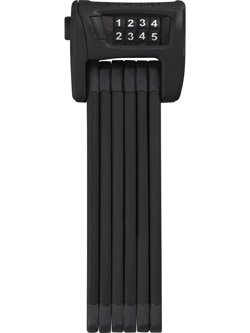 Zapięcie składane ABUS Bordo Combo 6100/90 black ST z uchwytem.