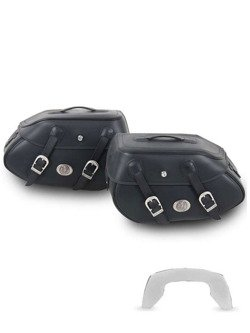 Hepco and Backer saddlebags Buffalo BIG for C-Bow Carrier