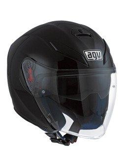 Open-face helmet AGV K-5 JET MONO Black