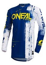 Bluza motocross O'neal Element Shred Blue
