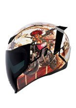 Kask integralny Icon AIRFLITE Pleasuredome3 - Brown