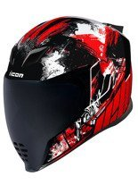 Kask integralny Icon Airflite Stim Red