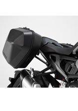 Kompletny zestaw plastikowych kufrów bocznych URBAN ABS i stelaży SW-MOTECH do Honda CB 1000 R