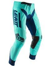 Spodnie off-road Leatt GPX 4.5 zielono-niebieskie