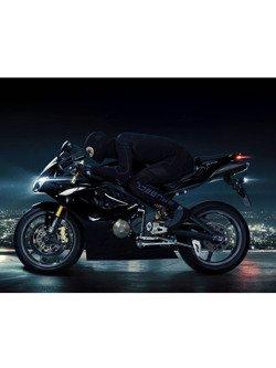 Bluza unisex BRUBECK MOTORCYCLE COOLER z długim rękawem