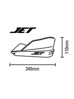 Handbary Barkbusters JET + zestaw mocujący Kawasaki 250/300 Versys