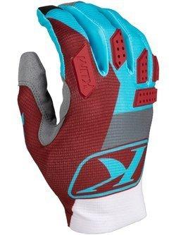 Rękawice motocyklowe Klim XC Lite niebieskie
