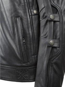 Skórzana kurtka motocyklowa JOHN DOE Technical z włóknem aramidowym