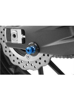 Slidery wahacza PUIG do motocykli Aprilia / Yamaha / Ducati 899/959 Panigale/Monster 821/Triumph (M6 - niebieskie PRO)