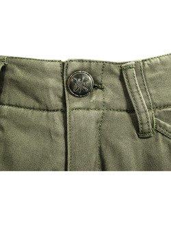 Spodnie motocyklowe tekstylne John Doe Cargo Stroker oliwkowe