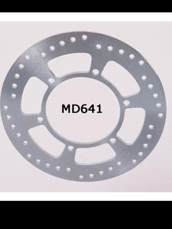Tarcza Hamulcowa EBC MD641 Stainless Steel Rotors na tył. Średnica 255mm.