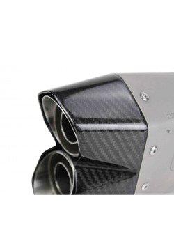 Tłumik IXRACE typ M10 Titanium [Slip On] Honda CBR 500 R/ CB 500 F [16-]