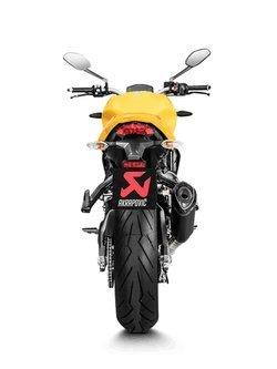 Tłumik Slip-On Line (TITANIUM) Akrapović Ducati Monster 821/1200/1200S/1200R [17-19]