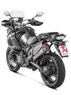 Tłumik Slip-On Line (TITANIUM) Akrapović Yamaha XT1200Z/E Super Tenere [10-19]