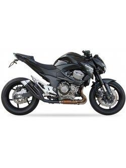 Tłumik motocyklowy IXIL DUAL HYPERLOW XL BLACK L3XB (SLIP ON) Kawasaki Z 800e [13-16]