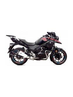 Tłumik motocyklowy IXRACE typ M10 Titanium [Slip On] Suzuki GSX-R 250/ DL 250 V-Strom [17-]