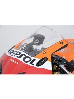 Zaślepka mocowania lusterka R&G do Honda CB600 Hornet (02-04), CBF600 (04-06), CBR300R (14-20), CBR500R (13-20), CBR600RR (13-16), CBR650R (19-20), VTR1000 SP-1 (All Years), Kawasaki ZX10-R (04-07), Yamaha YZF-R125 (14-18)