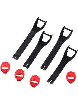 Zestaw pasków do butów Thor Blitz XP czerwono-czarne