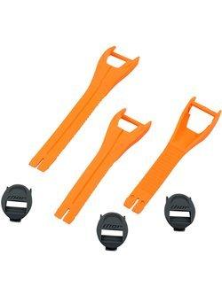 Zestaw pasków do butów dziecięcych Thor Blitz XP pomarańczowe