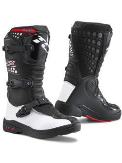 Buty enduro dziecięce TCX Comp czarno-białe