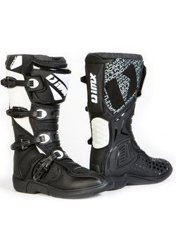 Buty enduro iMX Racing X-Two czarno-białe