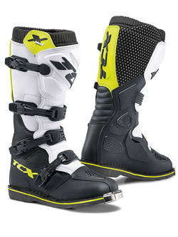 Buty off-road TCX X-Blast czarno-żółto-białe