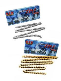 Łańcuch napędowy D.I.D. 520 ZVM-X SUPER STREET X-ring hiper wzmocniony [114 ogniw]