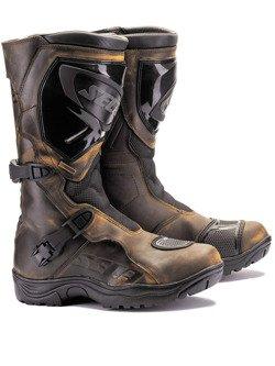 Turystyczne buty motocyklowe SECA ADVENTURE STX brown