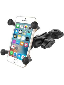 Zestaw: Uchwyt X-Grip™ montowany do ramy kierownicy na małe smartphony