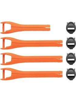 Zestaw pasków do butów Thor Blitz XP pomarańczowe
